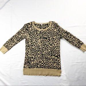 Banana Republic Cheetah Print Sweater